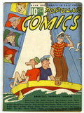 Platinum Age (1897-1937):Miscellaneous, Popular Comics #8 (Dell, 1936) Condition: VG-....