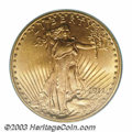 Saint-Gaudens Double Eagles, 1911 $20 MS65 PCGS. With a mintage of 197,350 pieces one ...