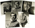 "Movie/TV Memorabilia:Photos, Vincent Price ""Elizabeth and Essex"" Publicity Stills. A set of fivevintage b&w 8"" x 10"" glossies of Price as Sir Walter Ral..."