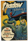 Golden Age (1938-1955):Crime, Shadow Comics V5#5 (Street & Smith, 1945) Condition: FN+ Off-white pages....