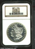 Proof Morgan Dollars: , 1881 $1 PR65 NGC. Boldly struck and white with nicely ...