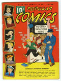 Platinum Age (1897-1937):Miscellaneous, Popular Comics #6 (Dell, 1936) Condition: VG....