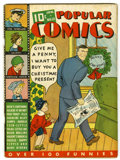 Platinum Age (1897-1937):Miscellaneous, Popular Comics #12 (Dell, 1937) Condition: GD/VG....