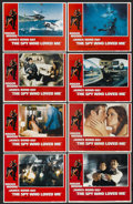 """Movie Posters:James Bond, The Spy Who Loved Me (United Artists, 1977). Lobby Card Set of 8 (11"""" X 14""""). James Bond.... (Total: 8 Items)"""