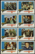 "Movie Posters:War, The Longest Day (20th Century Fox, 1962). Lobby Card Set of 8 (11""X 14"") and Program (8.5"" X 11.5"") War. ... (Total: 9 Items)"