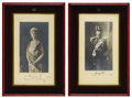 Royal Memorabilia, Pair of Photogravures of King George V and Queen Mary. Attractivepair of Royal photogravures, signed by George V (r. 1910... (Total:2 Items)