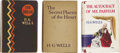 Books:First Editions, H.G. Wells. Three First Editions,... (Total: 3 Items)