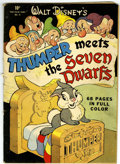 Golden Age (1938-1955):Cartoon Character, Four Color #19 Thumper Meets the Seven Dwarfs (Dell, 1943)Condition: VG....