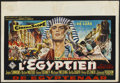 "Movie Posters:Historical Drama, The Egyptian (20th Century Fox, 1954). Belgian (15"" X 22"").Historical Drama...."