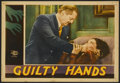 "Movie Posters:Drama, Guilty Hands (MGM, 1931). Lobby Card (11"" X 14""). Drama...."