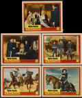 """Movie Posters:Western, The Horse Soldiers (United Artists, 1959). Lobby Cards (5) (11"""" X 14""""). Western.... (Total: 5 Items)"""