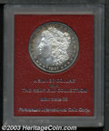 Additional Certified Coins: , 1881-S $1 Morgan Dollar MS65 Paramount (MS61 Cleaned). ...