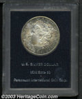 Additional Certified Coins: , 1884-CC $1 Morgan Dollar MS60 Paramount (MS63). On the ...