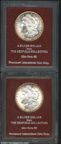 Additional Certified Coins: , 1887-S $1 Morgan Dollar MS65 Paramount (MS63), Ex: ... (2 Coins)