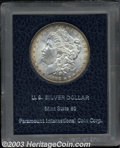 Additional Certified Coins: , 1888 $1 Morgan Dollar MS60 Paramount (MS63). Champagne ...