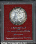 Additional Certified Coins: , 1891-S $1 Morgan Dollar MS65 Paramount (MS62 Cleaned). ...
