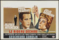 """Movie Posters:Hitchcock, Torn Curtain (Universal, 1966). Belgian (14"""" X 21""""). Hitchcock...."""