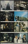 """Movie Posters:Science Fiction, Star Wars (20th Century Fox, 1977). Lobby Card Set of 8 (11"""" X14""""). Science Fiction.... (Total: 8 Item)"""