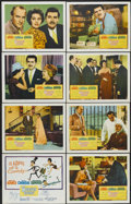 """Movie Posters:Comedy, Five Golden Hours (Columbia, 1961). Lobby Card Set of 8 (11"""" X14""""). Comedy.... (Total: 8 Item)"""
