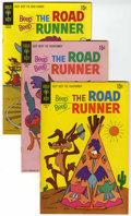 Bronze Age (1970-1979):Cartoon Character, Beep Beep, the Road Runner File Copies Group (Gold Key, 1967-71)Condition: Average VF/NM.... (Total: 12 Comic Books)