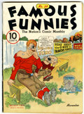 Platinum Age (1897-1937):Miscellaneous, Famous Funnies #28 (Eastern Color, 1936) Condition: FN-....