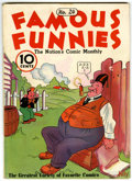Platinum Age (1897-1937):Miscellaneous, Famous Funnies #24 (Eastern Color, 1936) Condition: FN-....