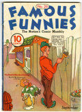 Golden Age (1938-1955):Miscellaneous, Famous Funnies #26 (Eastern Color, 1936) Condition: VG/FN....