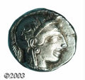 Ancients:Greek, Ancients: Attica, Athens. Ca. 449-393 B.C. AR tetradrachm (24 mm,16.49 g). Helmeted head of Athena right / Owl standing right; olive...
