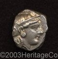 Ancients:Greek, Ancients: Attica, Athens. After 393 B.C. AR tetradrachm (19 mm,16.65 g). Helmeted head of Athena right / Owl standing right; olivesp...