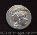 Ancients:Greek, Ancients: Attica, Athens. Ca. 130/29 B.C. AR tetradrachm (30 mm,16.92 g). 'New Style' issue. Helmeted head of Athena right / Owlstan...