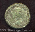 Ancients:Roman, Ancients: Claudius. A.D. 41-54. AE sestertius (34 mm, 26.50 g).Gallo-British imitation copying an issue of Rome, ca. A.D.41-50(?), o...