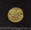 Ancients:Byzantine, Ancients: Constans II. A.D. 641-668. AV solidus (20 mm, 4.34 g).Constantinople, A.D. 659-ca. 661. Crowned facing busts of Constansan...