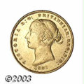 Australia: , Australia: Victoria gold Half Sovereign 1861, KM3, Choice VF withconsiderable mint lustre....