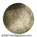 Italian States:Naples & Sicily, Italian States: Naples & Sicily. Charles V 1/2 Ducato ND (1516-1556), Bust right/Crowned arms, type of CNI-281, XF40 NGC. ...