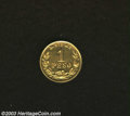 Mexico: , Mexico: Gold Peso 1899-Mo M, KM410, Choice BU, fully lustrous andvery attractive....