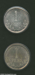 Mexico: , Mexico: Chihuahua. Silver Peso 1913, KM611, two nice examples, bothXF or better and lustrous. ... (Total: 2 coins Item)