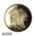 Papua New Guinea: , Papua New Guinea: Gold 100 Kina 1982FM, KM22, Royal Visit, Proof only issue with only 484 minted. ...