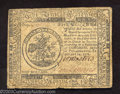 Colonial Notes:Continental Congress Issues, February 17, 1776, $5, Continental Congress Issue, CC-27, VF. ...