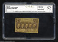 Fractional Currency:First Issue, First Issue 25c, Fr-1281, CU++. CGC-62. This straight edge ...