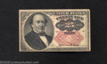 Fractional Currency:Fifth Issue, Fifth Issue 25c, Fr-1309, VF. This short key Walker note has ...
