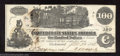 Confederate Notes:1862 Issues, Trans-Mississippi 1862 $100 Railway train; Straight Steam from ...