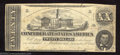 Confederate Notes:1862 Issues, 1862 $20 State Capitol at Nashvile, TN; A.H. Stephens, T-51, ...
