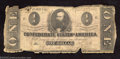 Confederate Notes:1862 Issues, 1862 $1 Clement C. Clay, T-55, Good. ...