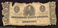 Confederate Notes:1862 Issues, 1862 $1 Clement C. Clay, T-55, Fair....