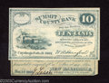 Obsoletes By State:Ohio, Two pieces of Ohio scrip a 1862 10¢ Summit County Bank, ... (2notes)