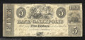 Obsoletes By State:Ohio, 1839 $5 The Bank of Gallipolis, OH, Fine. This is a nice note ...
