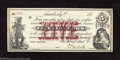 Obsoletes By State:Ohio, 187_ $5 Ehrlich?, Sandusky, OH, Choice Crisp Uncirculated. ...