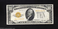 Small Size:Gold Certificates, 1928 $10 Gold Certificate, Fr-2400, XF. This is a bright and ...