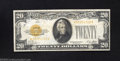 Small Size:Gold Certificates, 1928 $20 Gold Certificate, Fr-2402*, XF-AU. This is a lovely ...