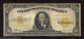 Large Size:Gold Certificates, 1922 $10 Gold Certificate, Fr-1173, Very Good. A decent low ...